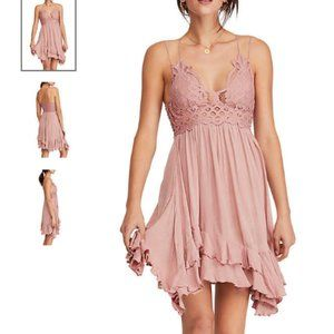 Free People Rose Adella Slip Dress sz XS